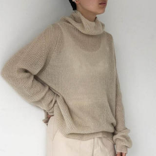 TODAYFUL - TODAYFUL Soft Mohair Turtle Knit