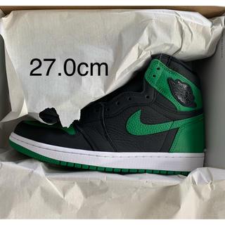 NIKE - 27.0 Nike Air Jordan 1 Pine Green 緑