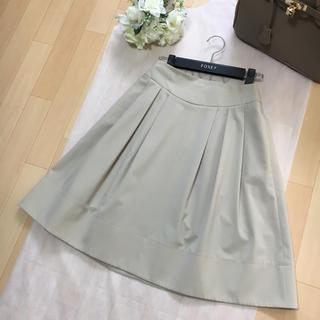FOXEY - 【美品】FOXEY フォクシー ストレッチ フレア 洗える スカート