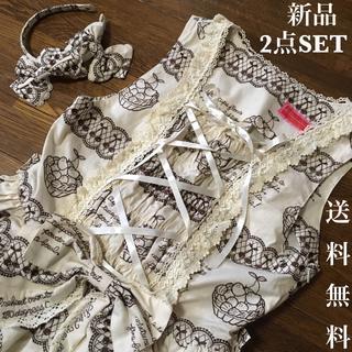 BABY,THE STARS SHINE BRIGHT - BABY刺繍柄☆新品JSK&カチュ2点セット☆エンブロイダリー