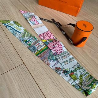 Hermes - タグ付き エルメス ツイリー スカーフ アニマルポリス