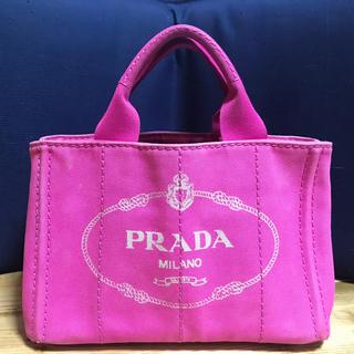 PRADA - プラダ   カナパ ピンク Sサイズ 本物