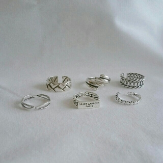 BEAUTY&YOUTH UNITED ARROWS - インポート silver 925 vintage rings ####