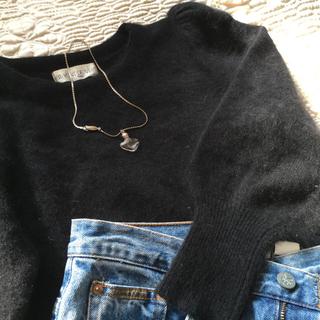Lochie - 🆕vintage angora puff sleeve sweater