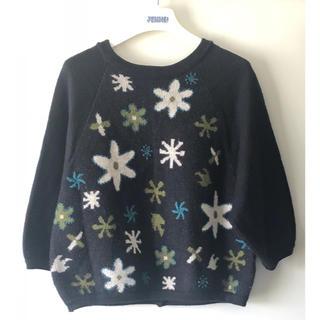 Jocomomola - ホコモモラ  前後着用セーター