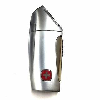 ウェンガー(Wenger)のWENGERウェンガーWL-1000 ターボガスライター激レア品 純正ケース付(タバコグッズ)