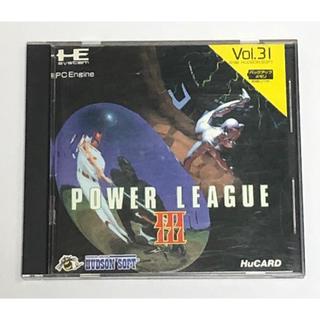 エヌイーシー(NEC)のPC-Engine パワーリーグⅢ(家庭用ゲームソフト)