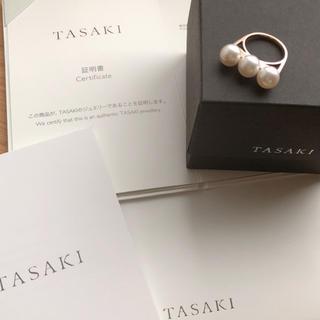 タサキ(TASAKI)のTASAKI バランス エラ リング SG 8号(リング(指輪))
