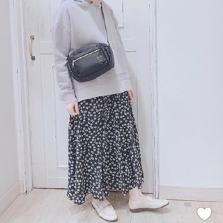 STUDIO CLIP - スタジオクリップ プリント花柄スカート 美品♪