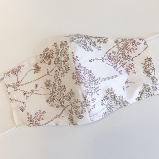 ハンドメイド マスク 値段 - リバティ♡ダブルガーゼ 布マスク リバーシブルの通販