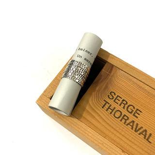 H.P.FRANCE - SERGE THORAVAL セルジュトラヴァル 7連リング 接吻 シルバー