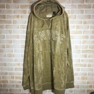 エニーチェ(ENYCE)の【Enyce Clothing Co.】ベロア生地 パーカー XXLサイズ(パーカー)