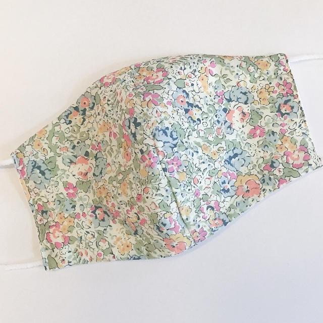 マスク オーバーヘッド / リバティ♡ダブルガーゼ 布マスク リバーシブルの通販