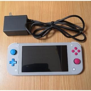 Nintendo Switch - ニンテンドースイッチライト ザシアン·ザマゼンタ 箱無し