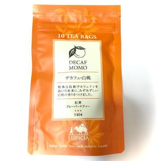 LUPICIA - LUPICIA  デカフェ 白桃  紅茶フレーバードティー   ティー お茶