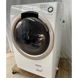 SHARP - シャープドラム式洗濯乾燥機7.0Kg マンションサイズ プチドラム ES-S70
