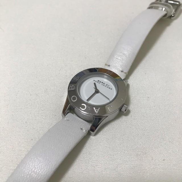 エンポリ 時計 激安中古 | MARC BY MARC JACOBS - マークジェイコブス 白腕時計の通販