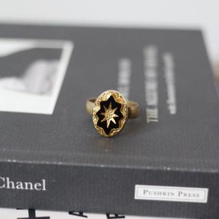 【期間限定最終値下げ】アンティーク 真鍮ゴールドモチーフリング(リング(指輪))