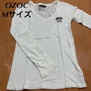 オゾック(OZOC)のOZOC ロゴカットソー 長袖Tシャツ Mサイズ(Tシャツ(長袖/七分))