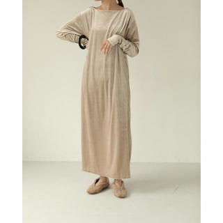 TODAYFUL - TODAYFUL Velour Slit Dress