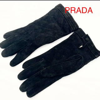 PRADA - プラダ PRADA スエード手袋