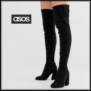 エイソス(asos)のasos/エイソス スエードニーハイロングブーツ(ブーツ)