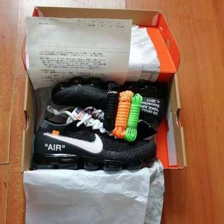 OFF-WHITE - NIKE Off-White AIR VAPORMAX FLYKNIT 27cm