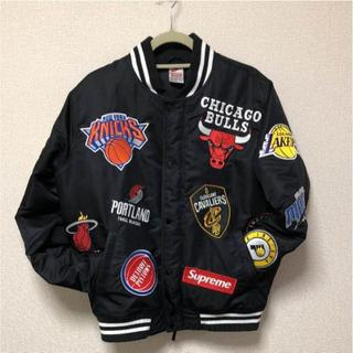 Supreme - Supreme Nike NBA Jacket Black 黒