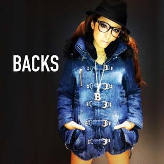 BACKS - BACKS デニム N3B アウター ジャケット♡ダイヤ ガルラ マウジー