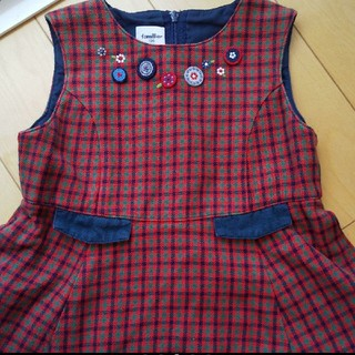 familiar - ファミリア ジャンパースカート 100サイズ