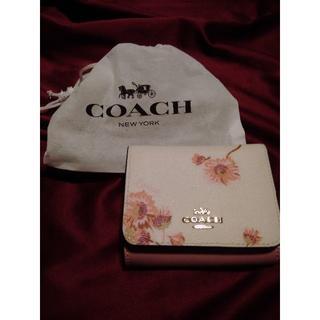 COACH - 美品 COACH3つ折り財布