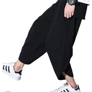 adidas - adidas サルエルパンツ ブラック L