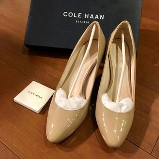 Cole Haan - コールハーン パンプス 24.5 新品 未使用 美品 レディース 靴 ベージュ