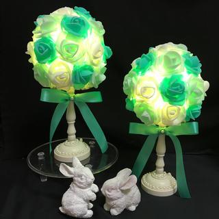 薔薇 バラ ローズ お花 ライト 間接照明 テーブルランプ フラワーライト(その他)