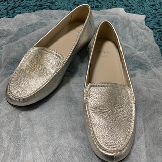 WAG ローファー 24.0cm シルバー (ローファー/革靴)