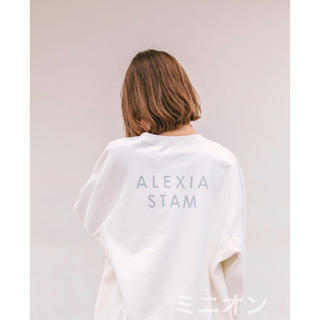 ALEXIA STAM - Back Separated Logo Sweatshirt