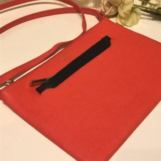 Furla - FURLAフルラ♡サーモンピンクのレザーショルダーバッグ