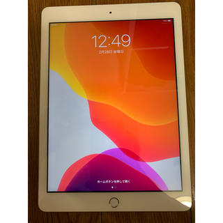 Apple - iPad 第5世代 32GB ゴールド セルラーモデル ドコモ docomo