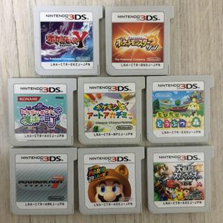 ニンテンドー3DS - 3DSソフト  8点 ポケモンY・アートアカデミー・サン・とんがりボウシ他