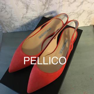 PELLICO - ペリーコ PELLICO 春色❣️フラットパンプス