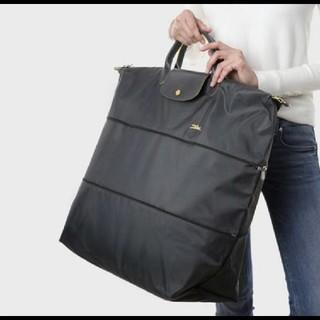 LONGCHAMP - 新春セール!ロンシャン 新作新品 ガンメタル 旅行 2way トートバッグ