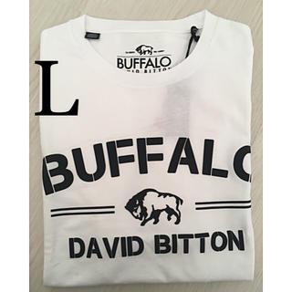 バッファロー(Buffalo)のBuffalo David Bitton バッファロー Tシャツ 新品(Tシャツ/カットソー(半袖/袖なし))