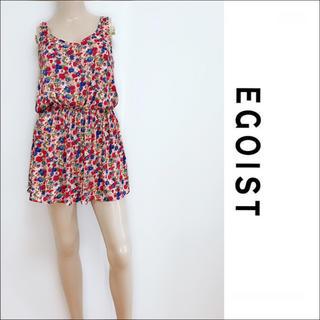 EGOIST - EGOIST 美品 フラワー チュニック✶リップサービス セシルマクビー