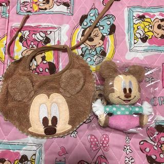 Disney - 新品☆ディズニー ミッキー  スタイ ラトル セット