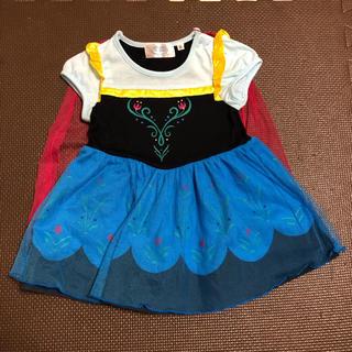 アナ雪*アナのドレス*80サイズ