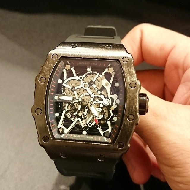 腕時計 ラバーベルト 新品の通販