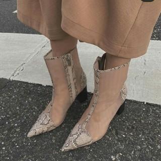 Ameri VINTAGE - Amerivintage MESH PIPING BOOTS