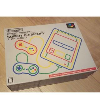 USB電源付き(消毒渡し)ニンテンドークラシックミニ スーパーファミコン(家庭用ゲーム機本体)