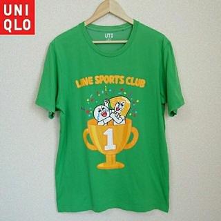 UNIQLO - ◇ユニクロ×LINE コラボTシャツ XL トップス メンズ