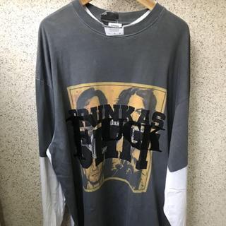 Balenciaga - VETEMENTS Drinking Problem オーバーサイズ Tシャツ